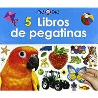 5 libros de pegatinas