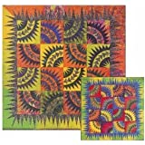 Dancing Batiks Quilt Pattern by Judy Niemeyer