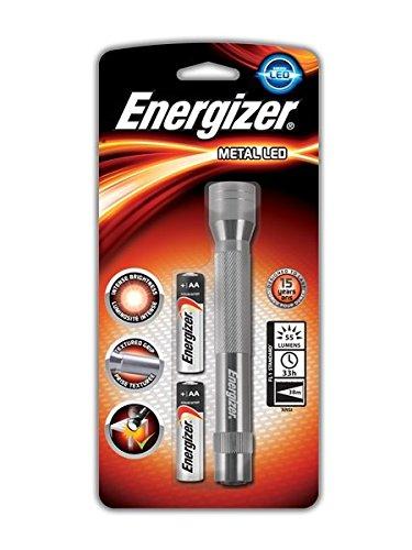 Energizer, Torcia portatile in metallo