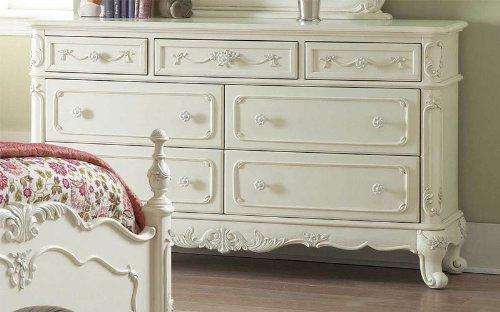 Cinderella Dresser By Home Elegance In White front-836451