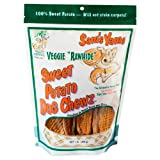 Sams Yams Veggie Rawhide Sweet Potato Dog Treats, 1-Pound