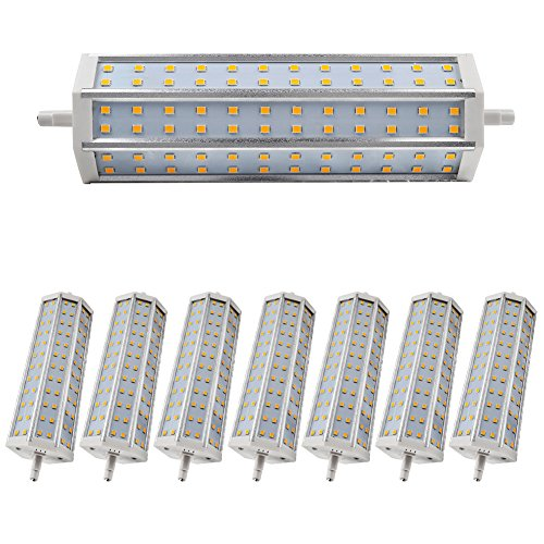 8X Smd 2835 14W Led R7S Bulb Dimmable Lighting Warm White Ac 85-265V