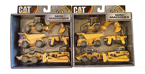 Toy State Caterpillar Construction Mini Machine 5-pack