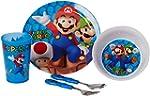 Super Mario Dinnerware and Cutlery Se...