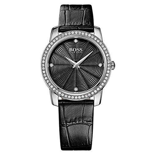 Hugo Boss Women's Quartz Watch 1502352 with Leather Strap