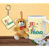 Tied Ribbons Friendship Day Gift For Best Friend Combo(Printed Coffee Mug(325ml),Cute Teddy With Keychain)