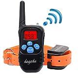 Dogedu DU518DRY1 Rechargeable Rainproof Dog Training E-Collar With Remote/Shock/vibration/Safe Beep