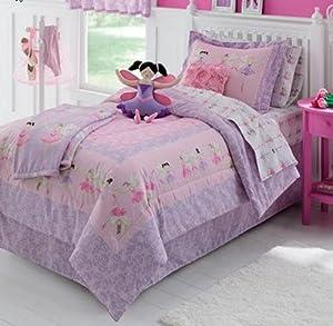 Ballerina, Ballet, Girls Twin Comforter Set (6 Piece Bed ...
