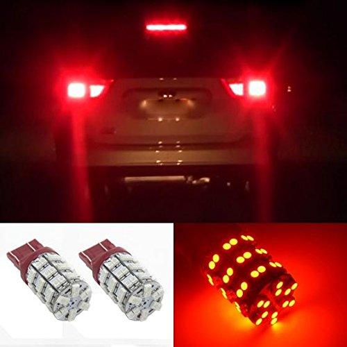 Partsam 7443 7440 Tail Stop Brake Light Led Rear Turn Signal Light Bulbs Red 7440A 7505 992 W21 T20 for Chevrolet Nissan GMC Honda One Pair (2004 Toyota Prius Brake Light compare prices)