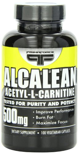 Primaforce Alcalean Acetyl L-Carnitine, 500 Mg, 100 Capsules