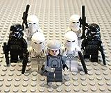 Lego Star Wars Mini Figures - Imperial Hoth Squad (4 Hoth Trooper, 2 Shadow Trooper & 1 Commander)