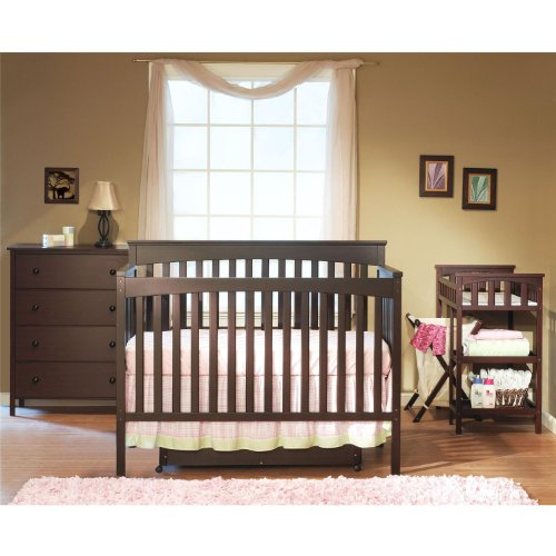 For Sale! Sb2 by Sorelle Petite Paradise 5pc Complete Nursery, Espresso