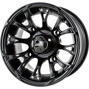 """DWT Nitro Black ATV/SxS Wheel (12x7""""/4x115mm)"""
