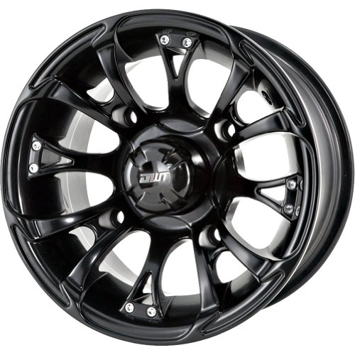 DWT Nitro Black 12 x 7 Inch  ATV/SxS Wheel