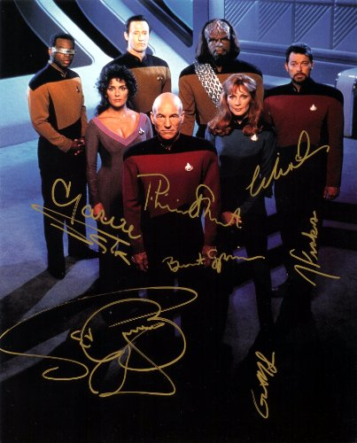 star-trek-the-next-generation-cast-signed-autographed-8-x-10-reprint-photo-mint-condition