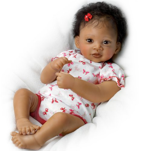 Ashton-Drake Interactive Baby Doll By Waltraud Hanl: Sweet Butterfly Kisses - 19