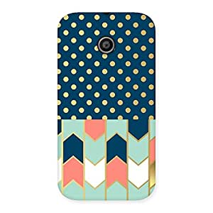 Delighted Pattern Pastal Back Case Cover for Moto E