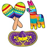 Ddi Fiesta Cutouts (Pack Of 72)