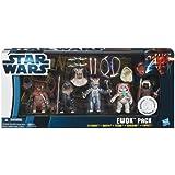 Star Wars Exclusive Ewok 5 Pack - Fltchee, Nanta, Teebo, Kneesaa & Tippet UK