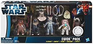 Hasbro Star Wars Ewok Pilot 6 Figuren-Set