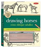 img - for Drawing Horses Kit: A complete kit for beginners by Getha, Patricia, Maltseff, Michele (2012) Paperback book / textbook / text book
