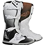 Fly Racing Maverik MX Adult MotoX/Off-Road/Dirt Bike Motorcycle Boots - Vapor / Size 9