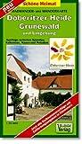 Radwander- und Wanderkarte D�beritzer Heide, Grunewald und Umgebung: Ausfl�ge zwischen Spandau, Falkensee, Nauen und Potsdam. 1:35000