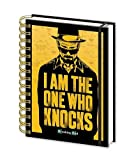 Breaking Bad notebook DIN A5 I am the one who knocks!