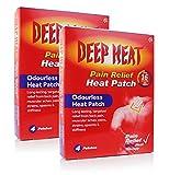 Deep Heat patch 4 **2 PACK DEAL**