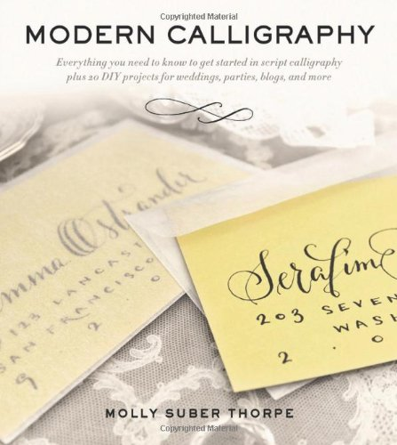 Book review modern calligraphy everything you need to