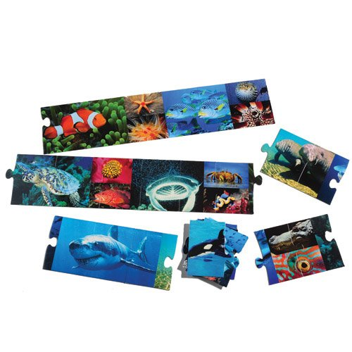 Cheap Constructive Playthings Ocean Creatures Floor Puzzle (B003Y774TQ)