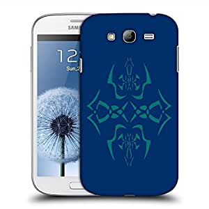 Snoogg Abstract Blue Pattern Designer Protective Back Case Cover For SAMSUNG GALAXY GRAND DUOS I9082