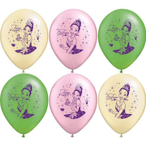 Disney Princess and the Frog Balloon - package of 6 - 1