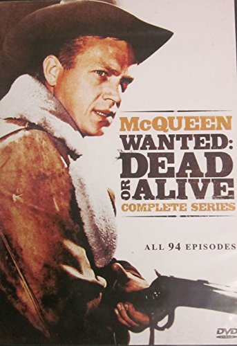 The Complete Series of McQueen Wanted: Dead or Alive (All 94 Episodes)