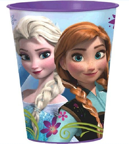 4 Disney Frozen Keepsake Stadium Souvenir 16oz Cups Favors 4ct