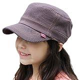 子供 帽子 フィット感抜群 シンプルデザインでもっとお洒落に キッズ ワッフルコットンワークキャップ