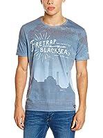 Firetrap Camiseta Manga Corta Selah (Azul)