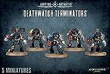 Warhammer 40,000 Deathwatch Terminators (5 figures)