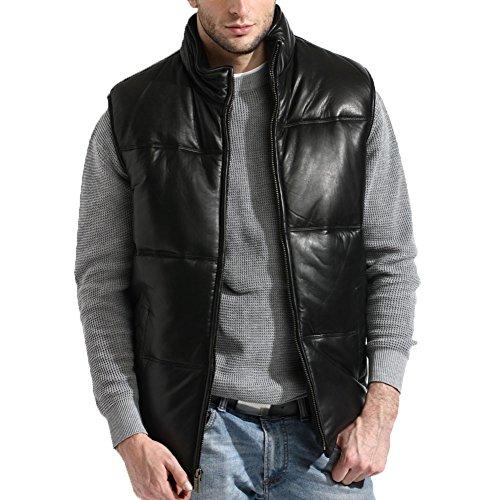 tanners-avenue-mens-lambskin-leather-bubble-vest-classic-size-xl-black