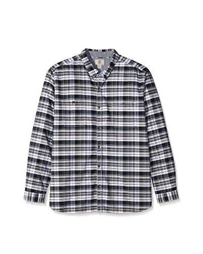 Timberland Camisa Hombre Ls Warner River Tart Negro / Gris