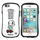 iPhone6s iPhone6ケース カバー スヌーピー iface First Class 正規品 ストラップホール (スヌーピー&チャーリーブラウン)