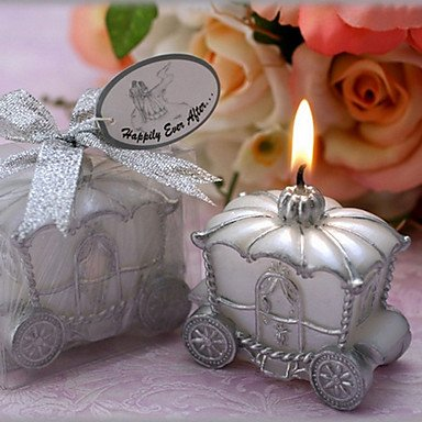 Zcl Happily Ever After Carriage Candle