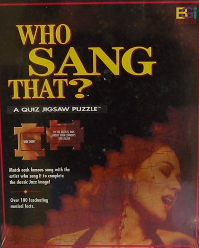 Who Sang That? Quiz Jigsaw Puzzle