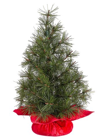 12″ Mixed Pine Artificial Table Top Christmas Tree