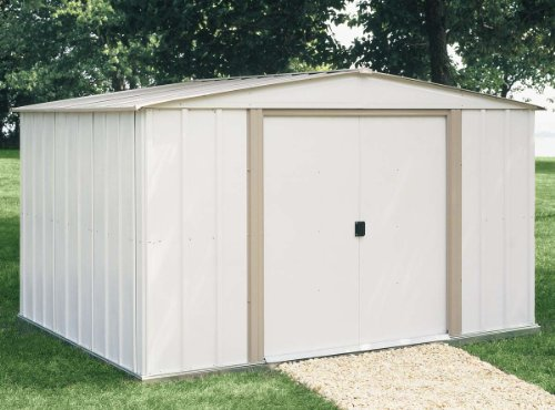 Cheap price arrow shed sa86 a salem 8 feet by 6 feet for Affordable storage sheds