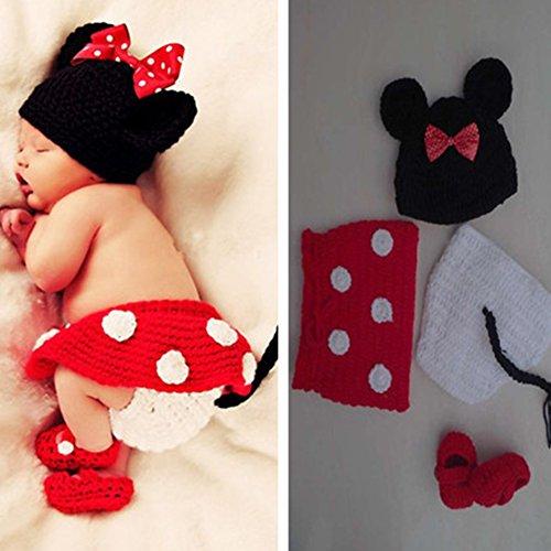 Imagen 6 de Feichen bebé Traje Foto fotografía apoya la Proposición del niño que arropan el sistema (ratones)