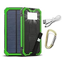 ToHLo Solar Charger Power Bank 15000mAh,...