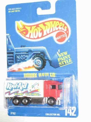 142-hiway-hauler-kool-aid-wacky-warehouse-basic-wheels-thick-stripe-collectible-collector-car-mattel