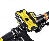 【Liroyal】バイク 自転車用スマートフォンホルダー  360度回転 iphone GALAXY Xperia 携帯 GPS バー マウント