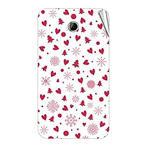 Garmor Designer Mobile Skin Sticker For Lenovo S560 - Mobile Sticker